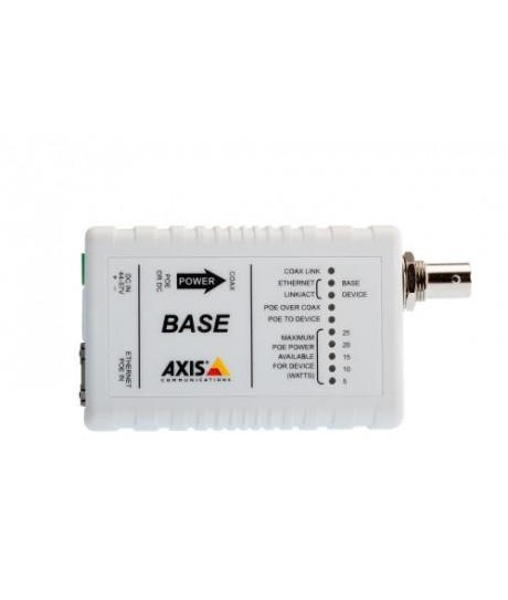 AXIS T8641 POE+ OVER COAX BASE (5028-411)