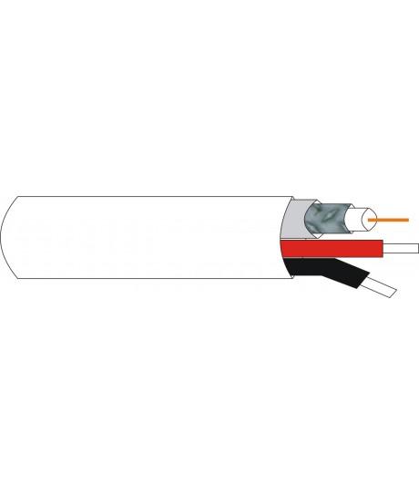 Cable micro-coaxial combi