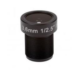 ACC LENS M12 3.6MM F2.0 10PCS (5506-011)