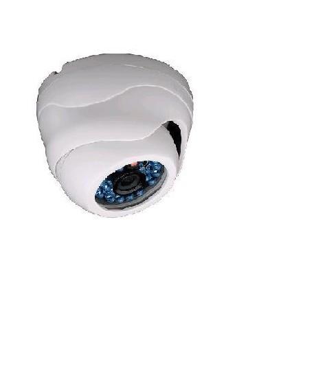 Minidomo con IR y lente fija d/n para interior